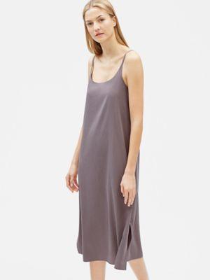 857077a1e508 Sandwashed Tencel Slip Dress-S9OSZ-D4425 | wear in 2019 | Dresses ...