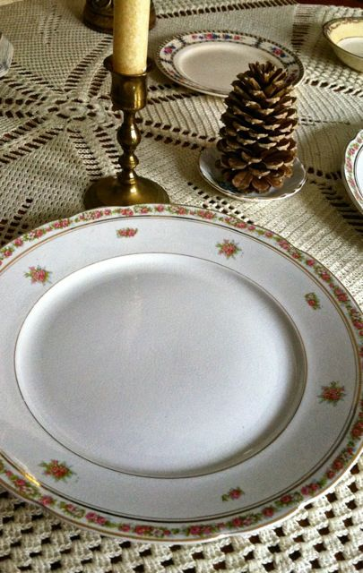 Delicate vintage china pattern - Southern Vintage Table