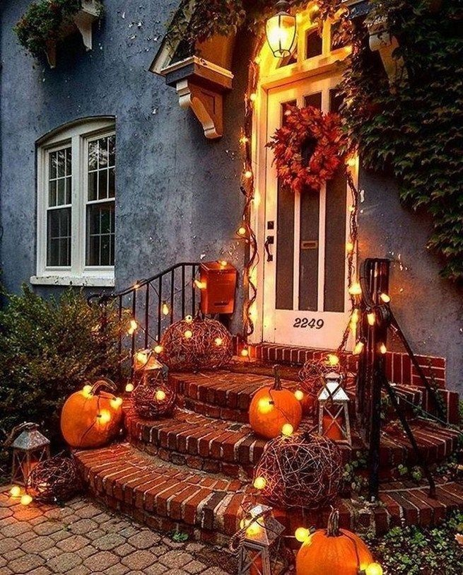 +61 DIY Halloween Home Decor Ideas #herbstlicheaußendeko