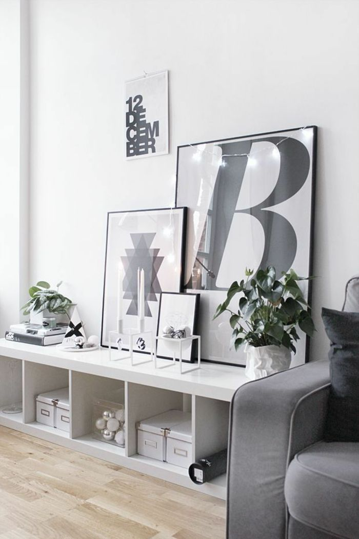 Sideboard Dekorieren Und Einen Positiven Effekt Erzielen Dekorieren Effekt Einen Erzielen Positiven Wohnen Familienzimmer Wohnung Einrichten Dekoration
