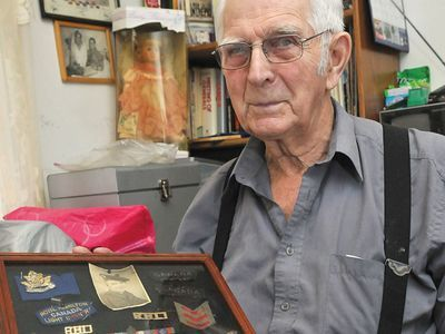 Grandpa Bray in DurhamRegion Article: You never forget war: Scugog veteran