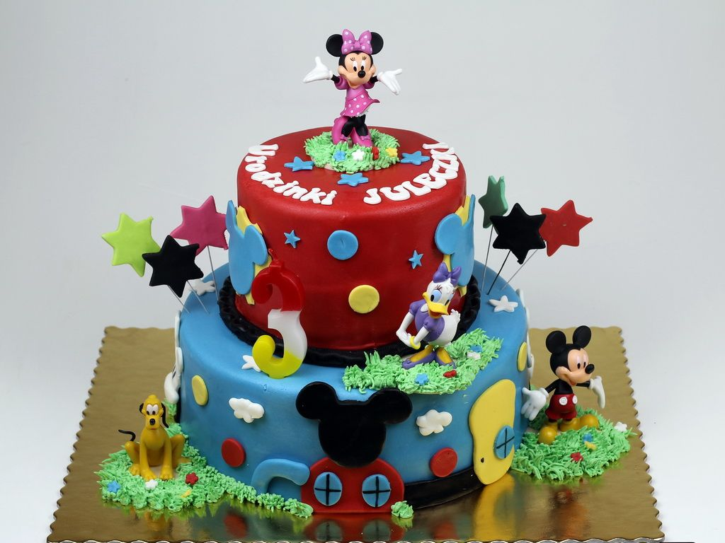 Mickey Mouse Clubhouse Birthday Cake in Lodnon httpwww