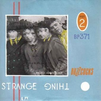 Buzzcocks 'Strange Thing' Record Cover