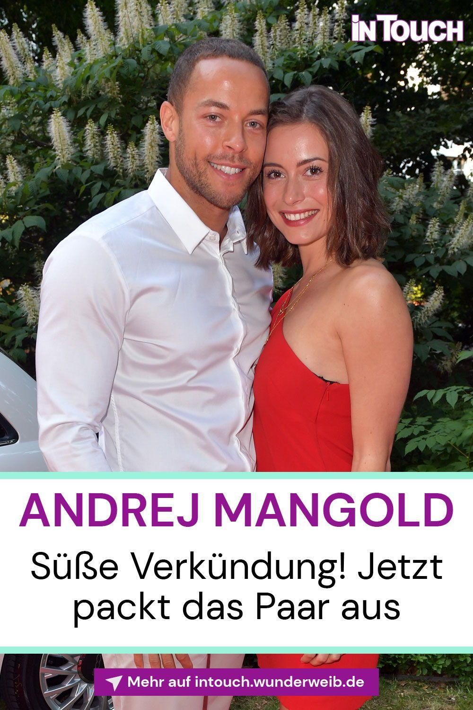 Andrej Mangold Jenny Lange Susse Verkundung Jetzt Rucken Sie Mit Der Sprache Raus Intouch Kollegen Mangold Vip News