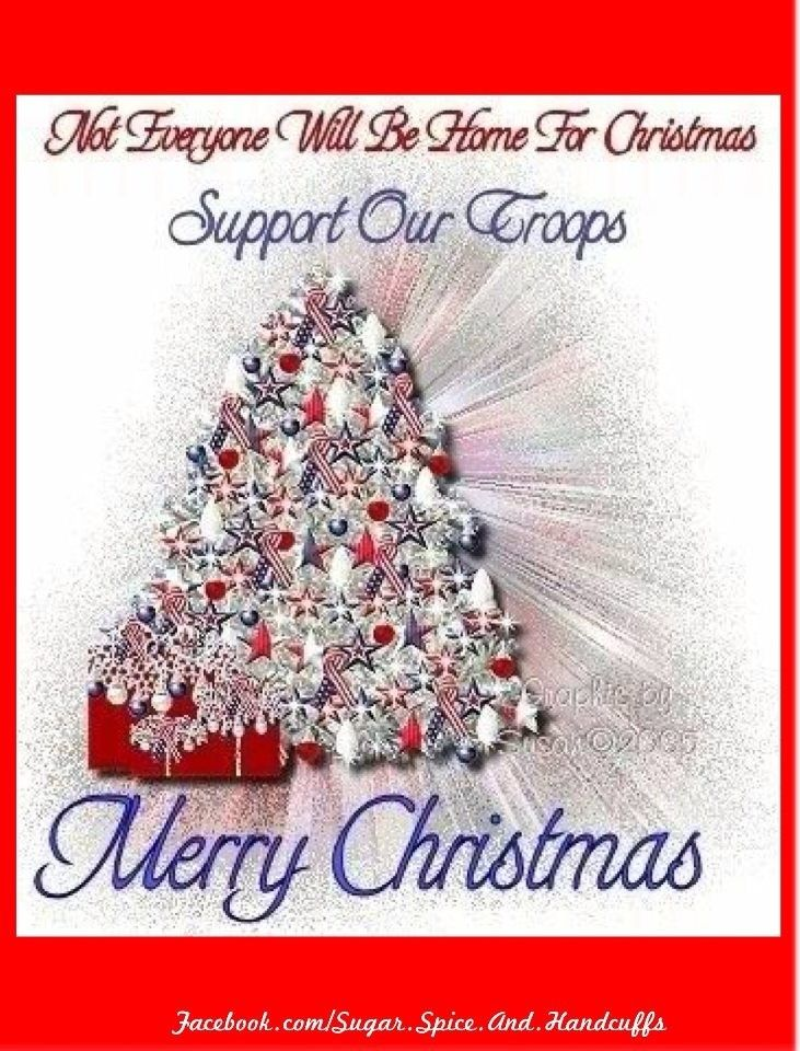Support Our Troops Support our Troops....Merry Christmas