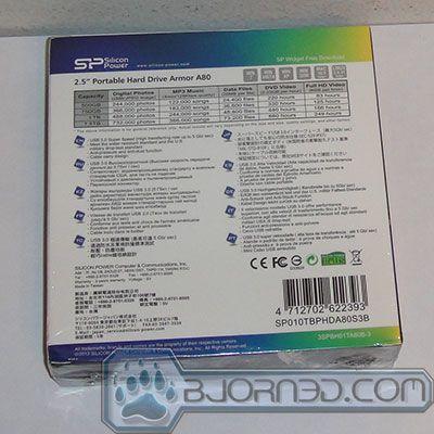 Silicon Power Armor A80 1TB USB 3.0 Portable Drive