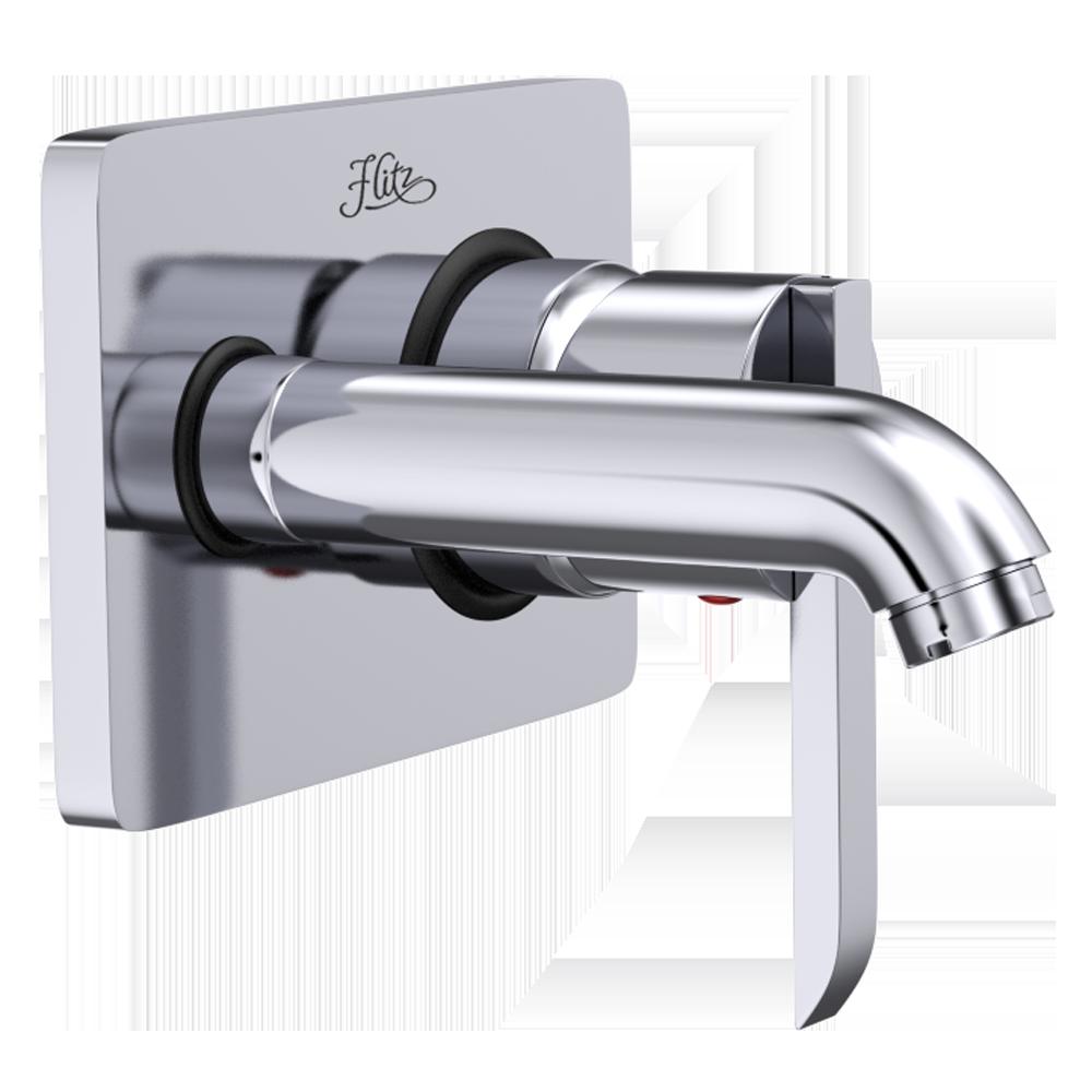 Product - Delma(1010 Wall Mounted Basin Mixer) Flitz - Designer Bath ...