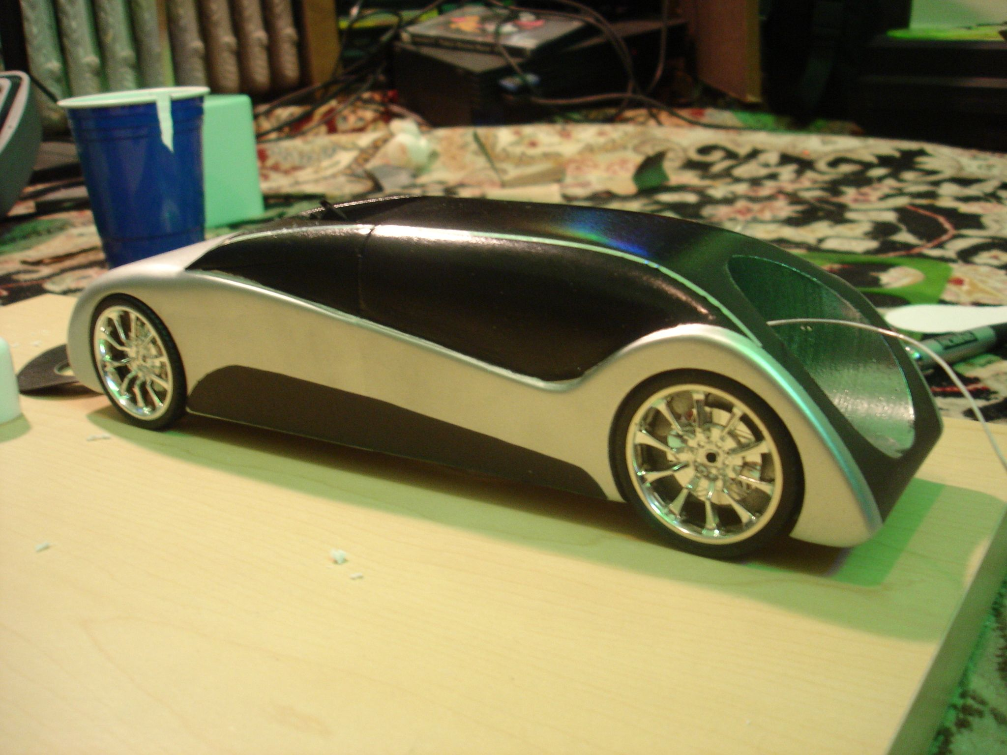 Ferari Pinewood Derby Car Designs | Pinewood Derby Design Competition 1st  Place By Jordan Guelde At