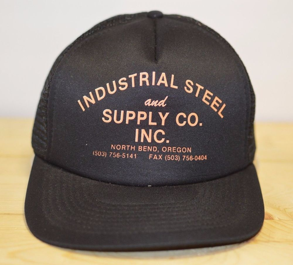 cb8744f262039 Trucker Hat Industrial Steel and Supply Co. Inc. North Bend Oregon Vintage  Mesh  IndustrialSteelandSupplyCoInc  TruckerHat  TruckerHat