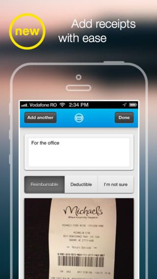 Shoeboxed Receipt and Mileage Tracker By Shoeboxed Free iPhone - mileage tracker