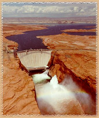 Glen Canyon Dam Spillway | There's power in the Flood