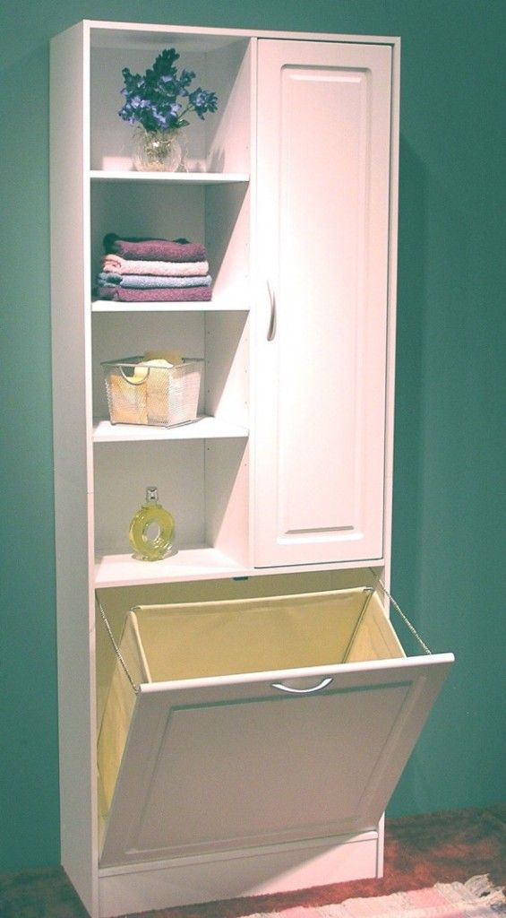 Great Idea For Laundry In The Bathroom White Large Bathrooms Small Bathroom Storage Bathroom Storage Tower