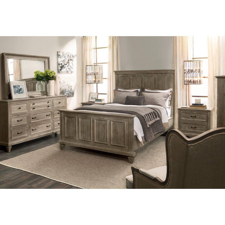 Harrison 5 Piece Bedroom Set With Dresser And Mirror American Signature Furniture Bedroom Sets Rustic Bedroom Furniture Value City Furniture 5 piece bedroom set king