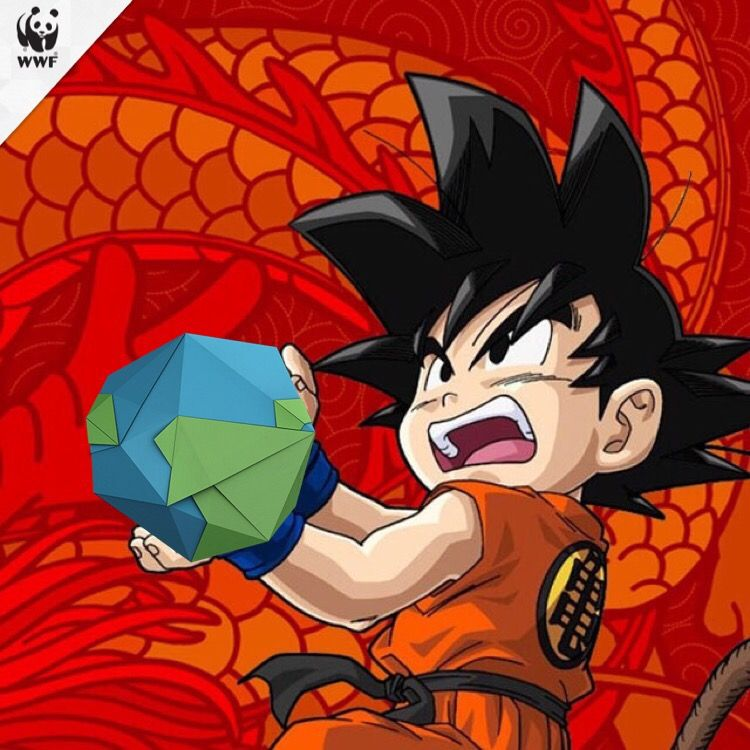 Wwf Edit From The Wwf App Of Son Goten Wallpaper Anime Personagens De Anime Goku Crianca