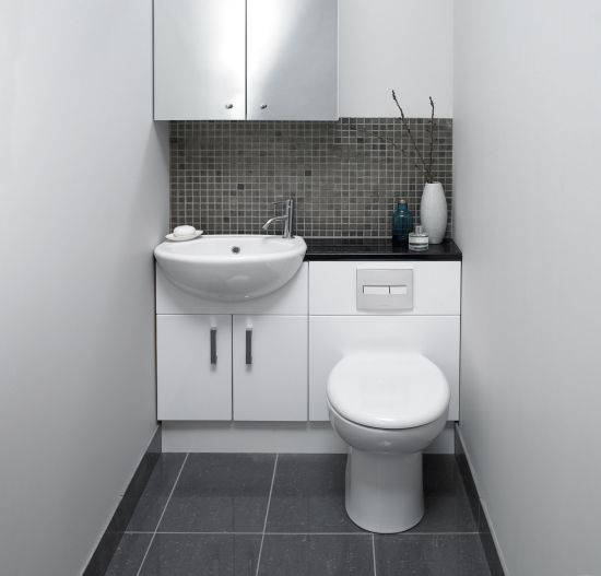 21 Smart Space Saving Ideas For Every Room Small Bathroom Fitted Bathroom Toilet Design