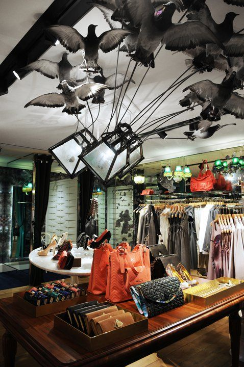 Ted Baker, Paris St Germain...really cool interior!