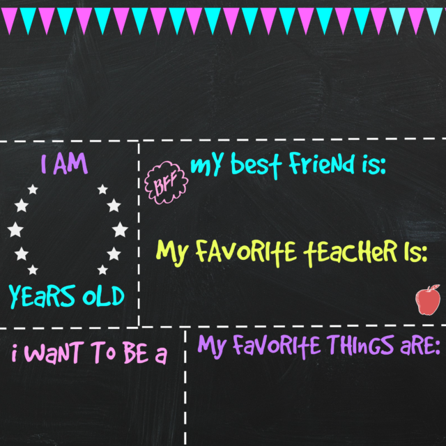 First Day of School Printable Chalkboard Sign is part of Last day of school, Chalkboard signs, School chalkboard, School signs, School printables, First day of school - Can you tell September is just around the corner  I've been sharing a lot of Back to School printables lately, maybe because one of my younger boys is heading to Kindergarten and I'm fe…