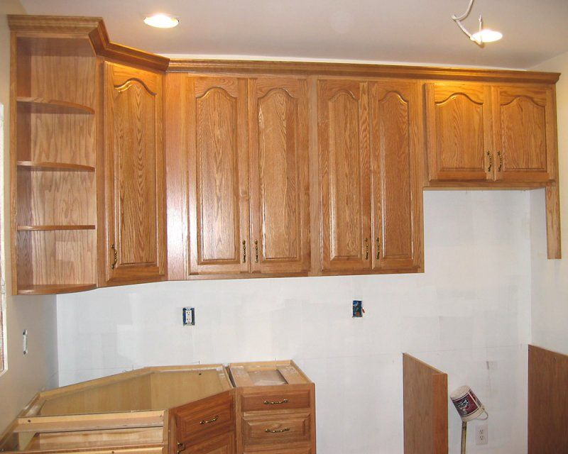 crown molding styles for kitchen cabinets | ... | all ...