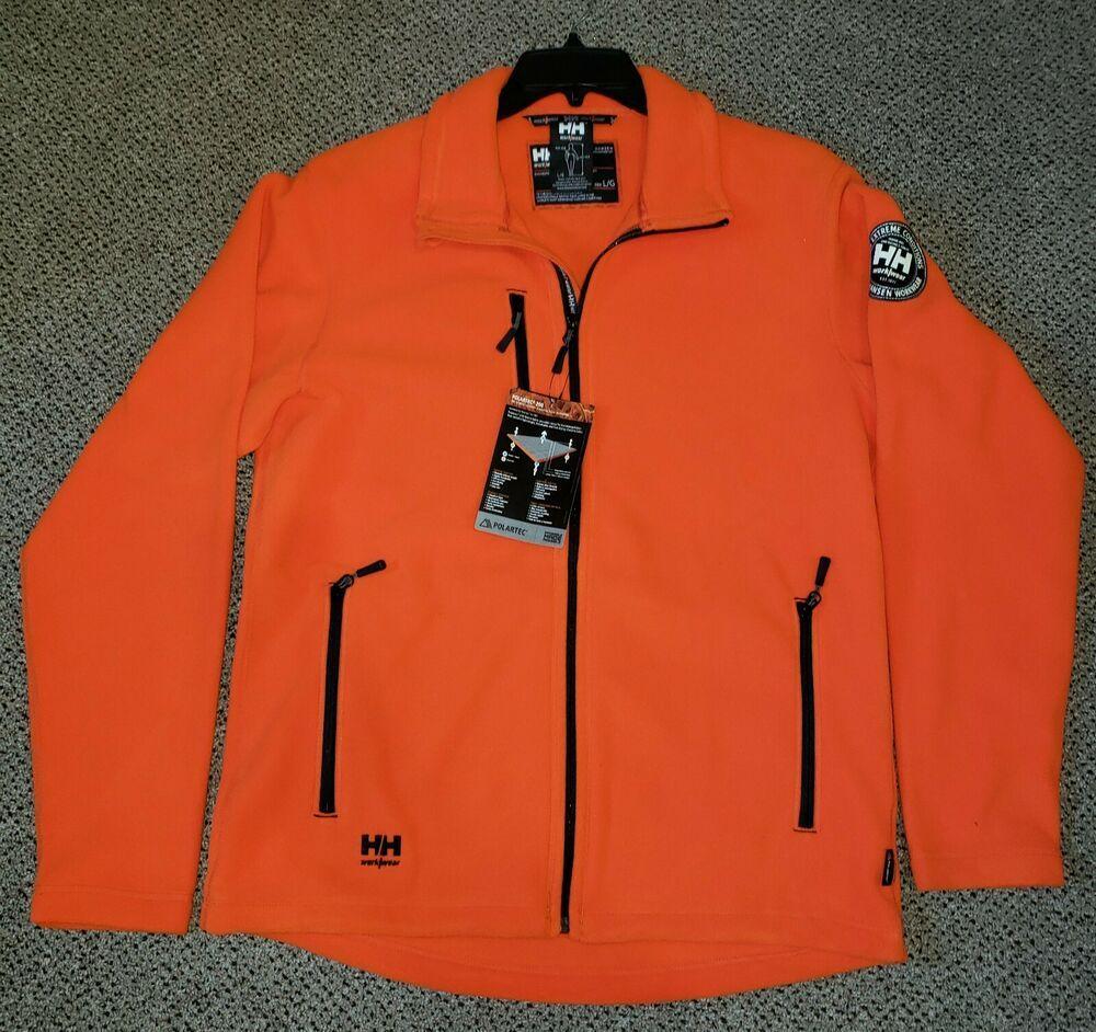 stor försäljning fabriker premium urval Helly Hansen 72112 Orange Langley Fleece Jacket #fashion #clothing ...