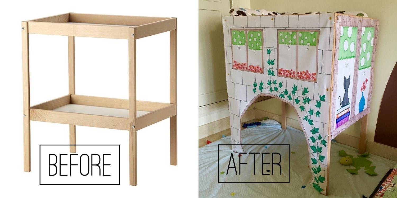 convertir cambiador de ikea en armario