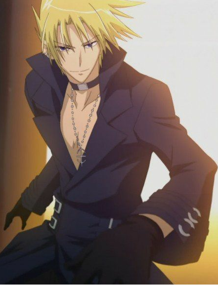 contest!!! post a anime boy with blonde hair and brown