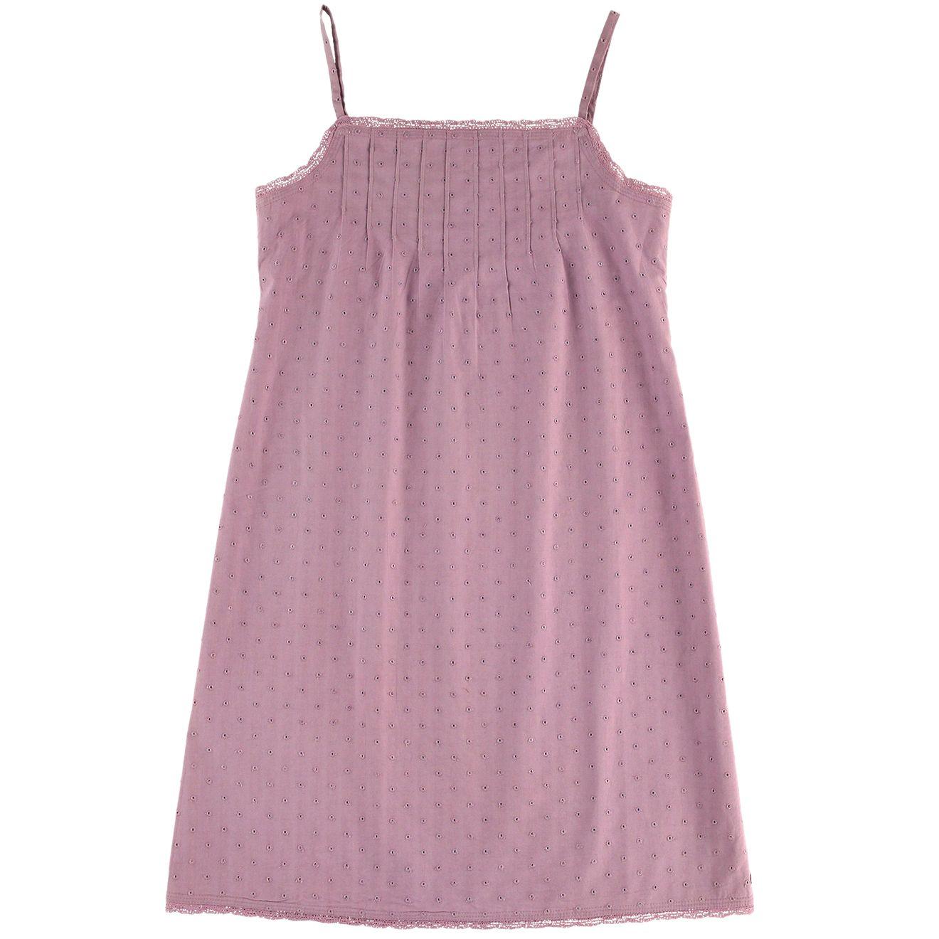 Bazarchic - Chemise de nuit en coton vieux rose