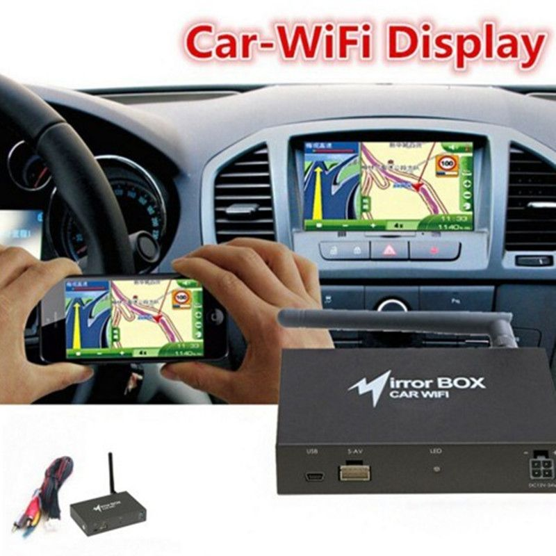 Professional WIFI Car Mirror Box for Android iOS Phone