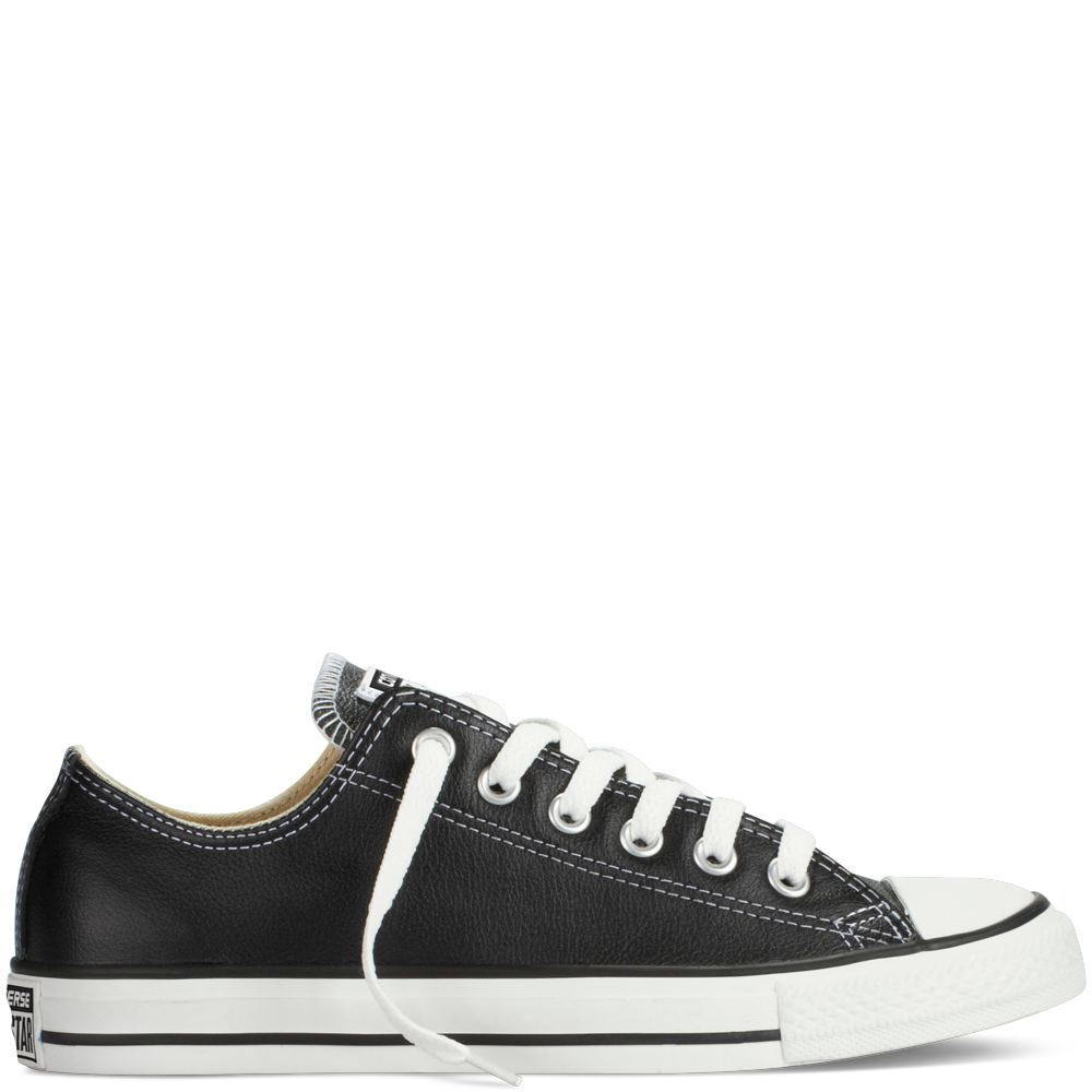4e186c212e7d41 I wouldn t mind some leather Chucks - Chuck Taylor All Star Leather black