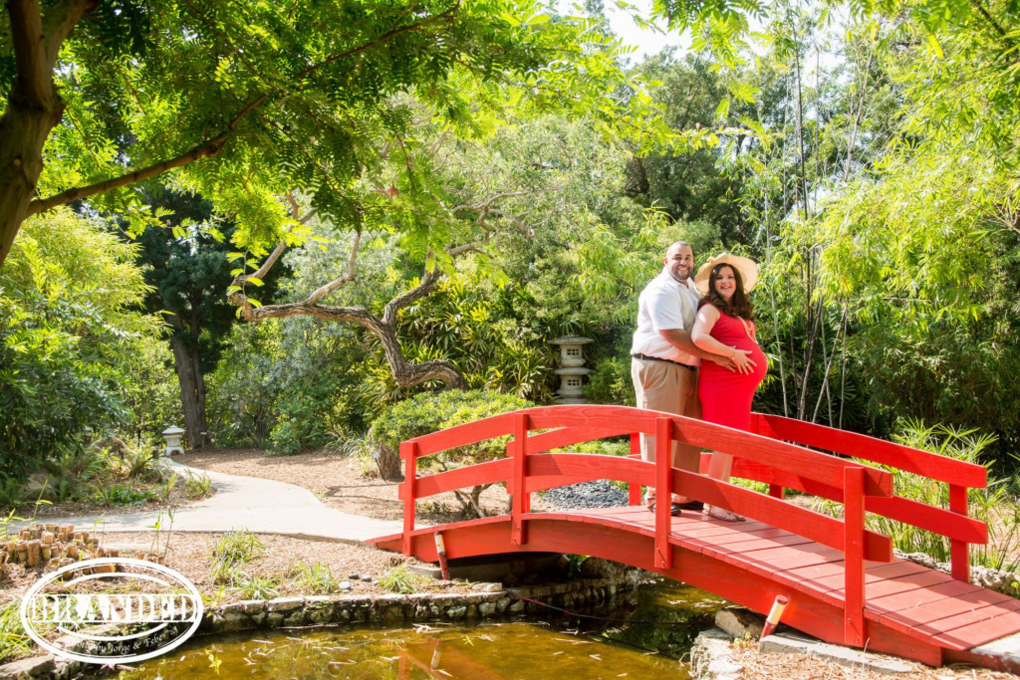 Attrayant Garden Theme Maternity Photography Session   Miami Beach Botanical Garden