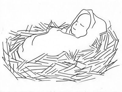 baby jesus beautiful photos baby jesus coloring pages for kids - Baby Jesus Manger Coloring Page