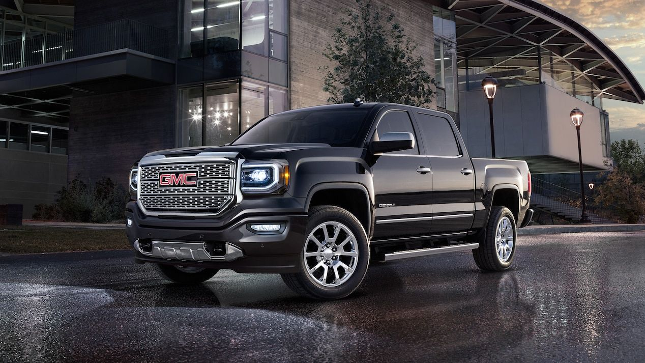 Exterior Image Of 2018 Gmc Sierra 1500 Denali Luxury Pickup Truck