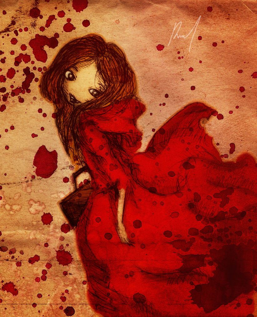 Little Red Riding Hood - color by 0Reke0.deviantart.com