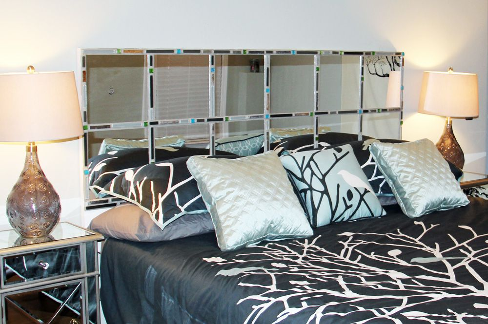King Size Bed Master Bedrooms Dark Wood