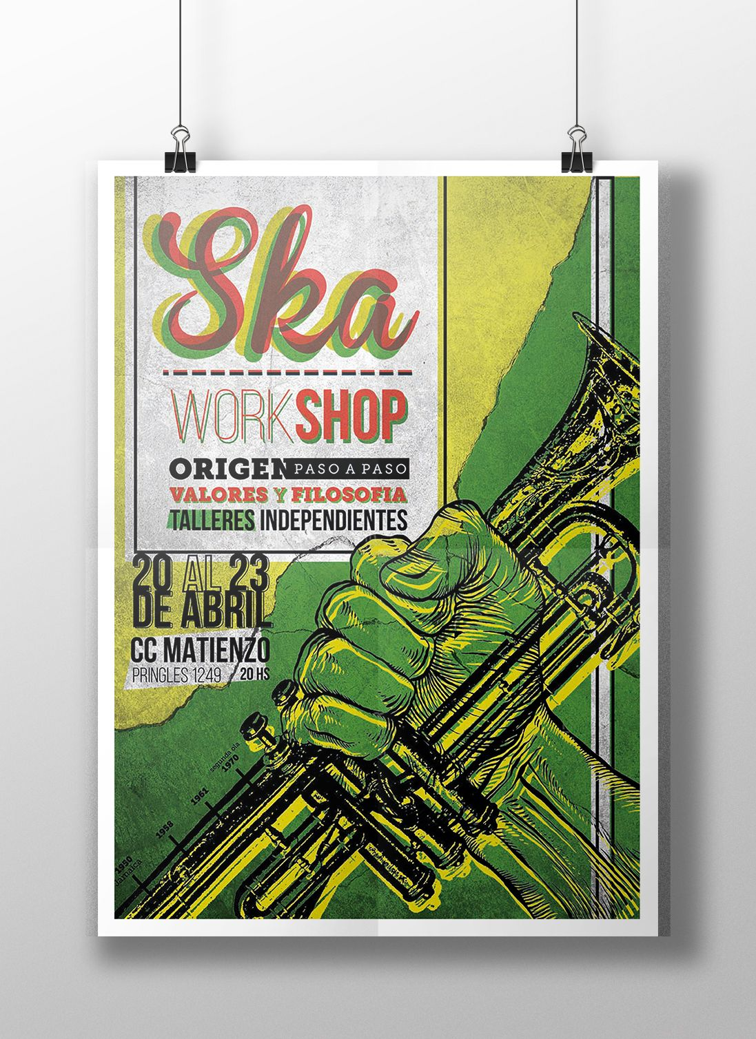 Diseño de afiches - Ska on Behance