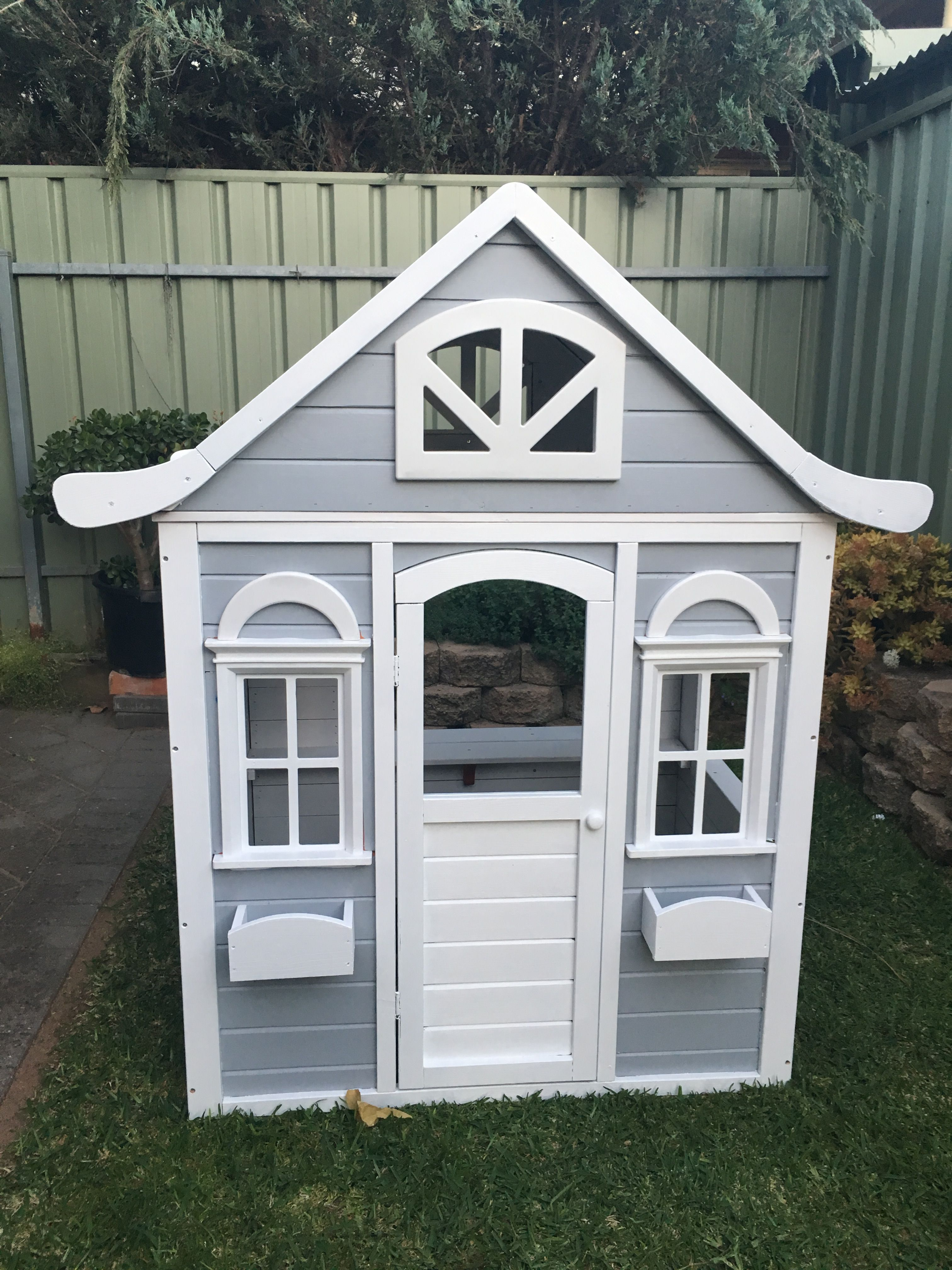 Delightful Kmart Cubby House Converted.