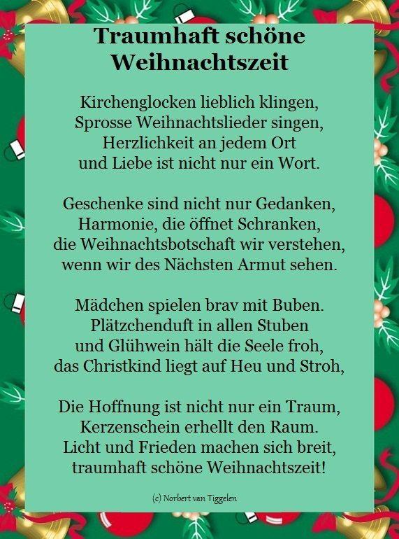 Weihnachten Advent Van Tiggelen Gedichte Menschen Leben Weisheit Welt Erde Gesellschaft Gefuh Weihnachtsgedichte Weihnachtsspruche Weihnachten Spruch