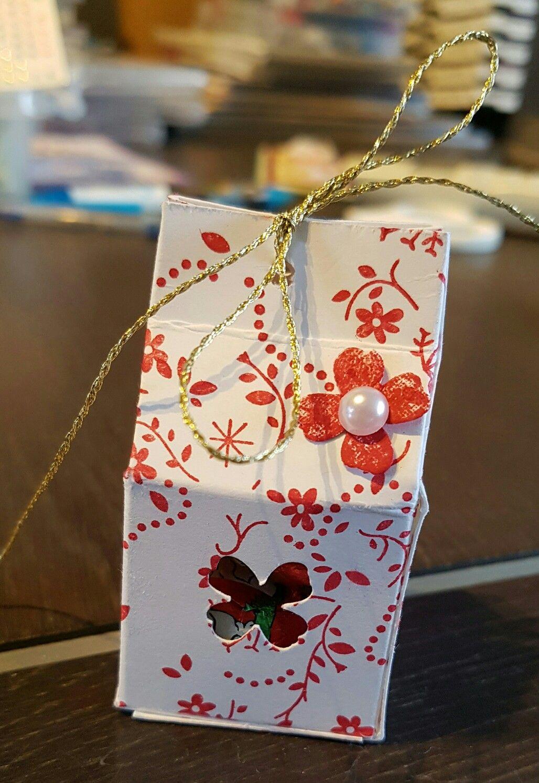 "Eatereggbox, paaseidoosje. Stampinup stampset,  stempelset: ""Thankful Life""."