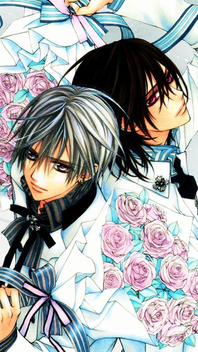 Zero and Kaname Vampire knight yuki, Vampire knight