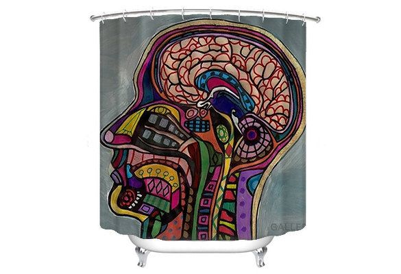 30 OFF Today Anatomy Shower Curtain