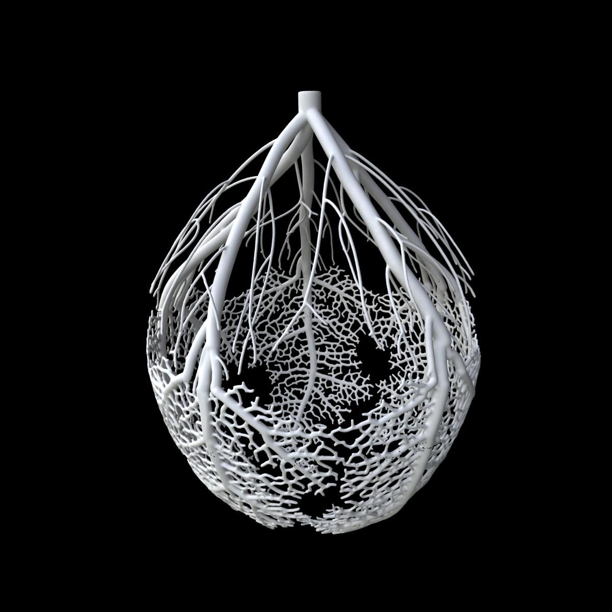 Hyphae3d2 3d Printing Art Prints 3d Printed Objects