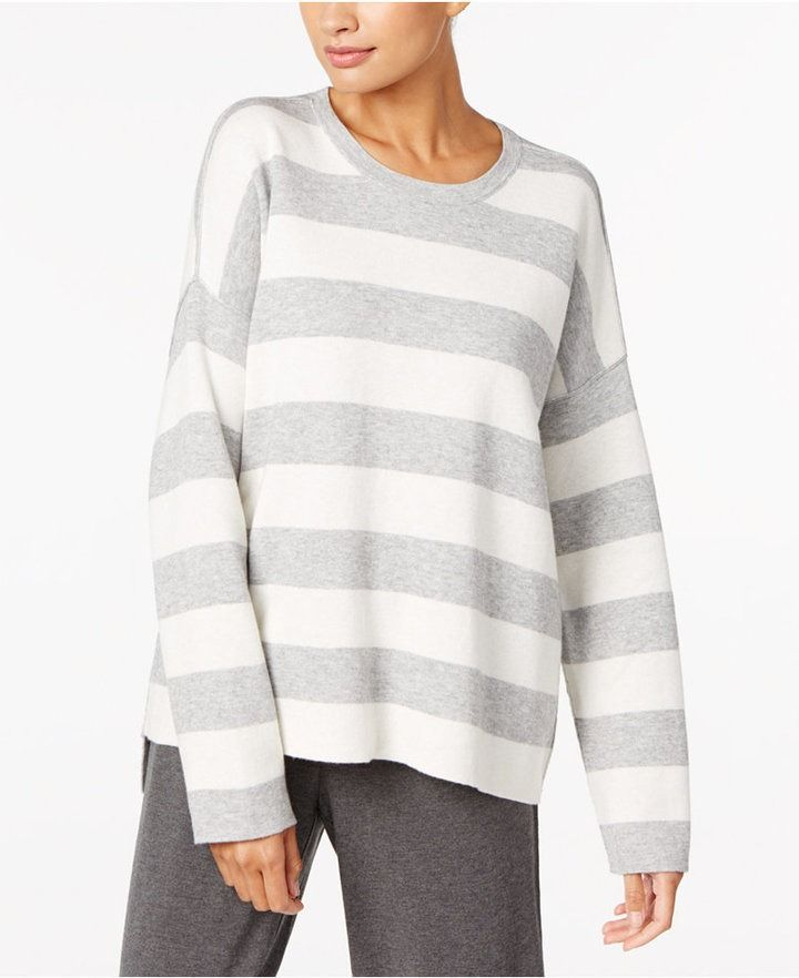 6ba0d708699a70 Cotton- Cashmere Blend Reversible Crew-Neck Sweater, by Eileen Fisher on  ShopStyle.