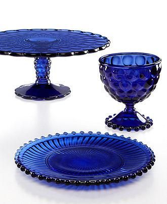 Martha Stewart Collection Cobalt Glassware Collect