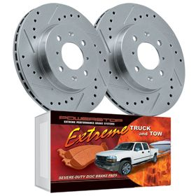 (Limited Supply) Click Image Above: Power Stop Truck & Tow Brake Kit - Power Stop Truck Brake Pads & Rotors