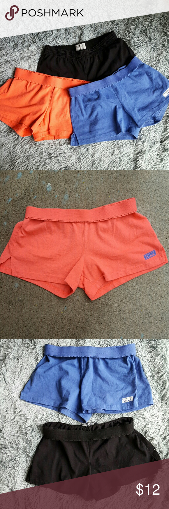 SOFFE Shorts bundle 2 SOFFE Shorts in size XS. All in really good condition. Only sign of wear is the faded tags. Soffe Shorts