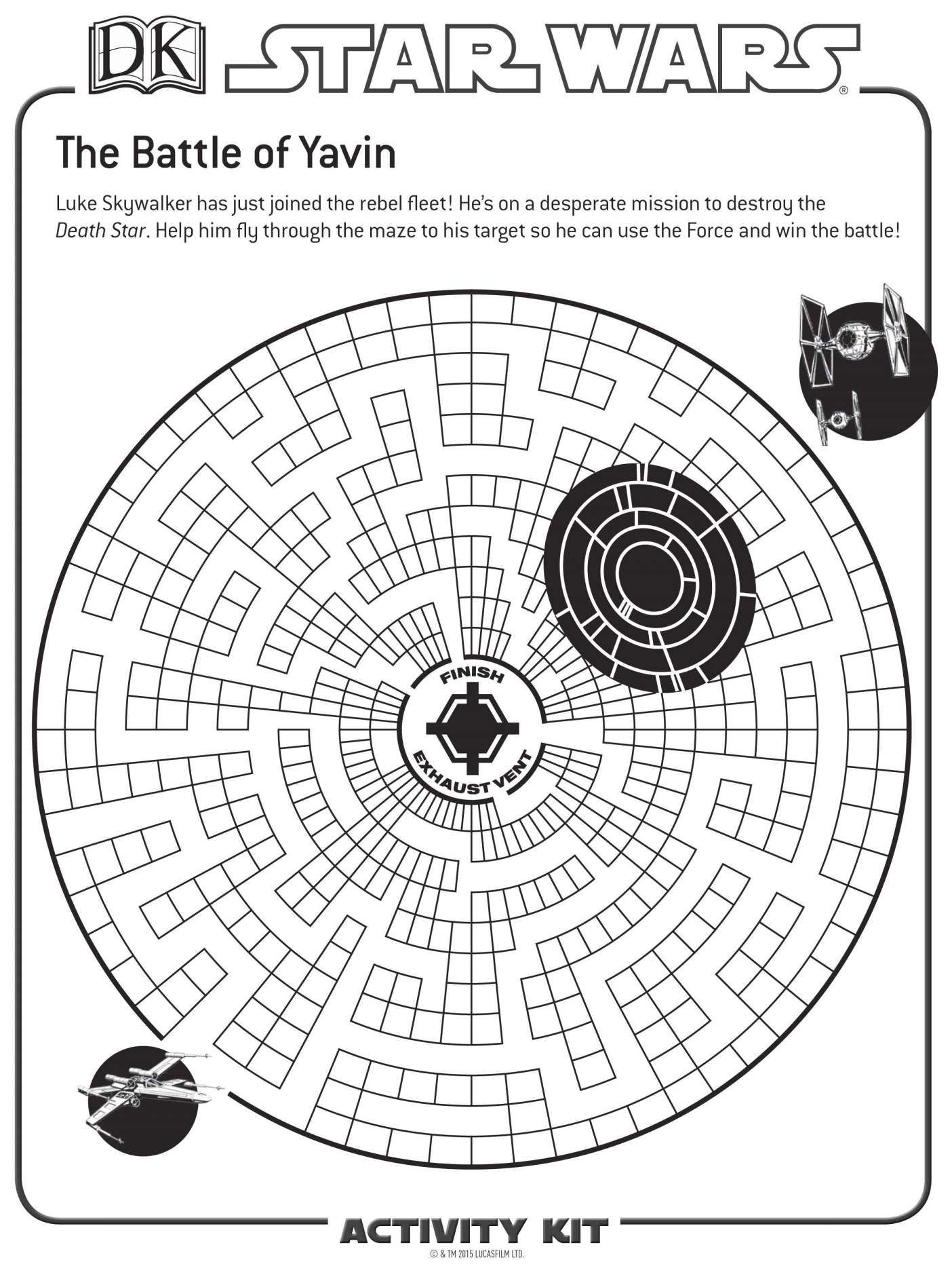 Science World Star Wars On Location Worksheet And Star
