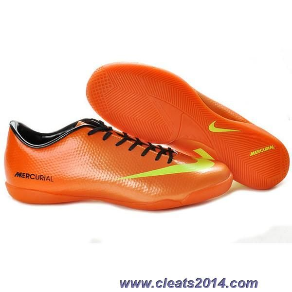 new product e0a8b 6b446 Discount Orange Yellow Nike Mercurial Vapor IX IC The Most Flexible Shoes