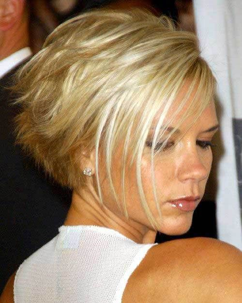 15 Best Victoria Beckham Blonde Bob Haircuts Crazyforus Short Hair Images Hair Styles Beckham Hair