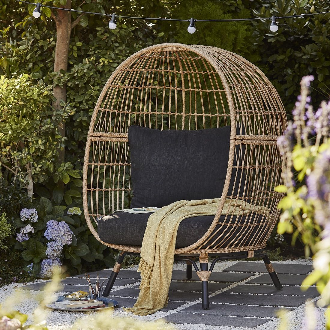 B Q Launches Insta Worthy Egg Chair And It S Perfect For Sprucing Up Your Outdoor Space In 2020 Garden Chairs B Q Garden Furniture Outdoor Space
