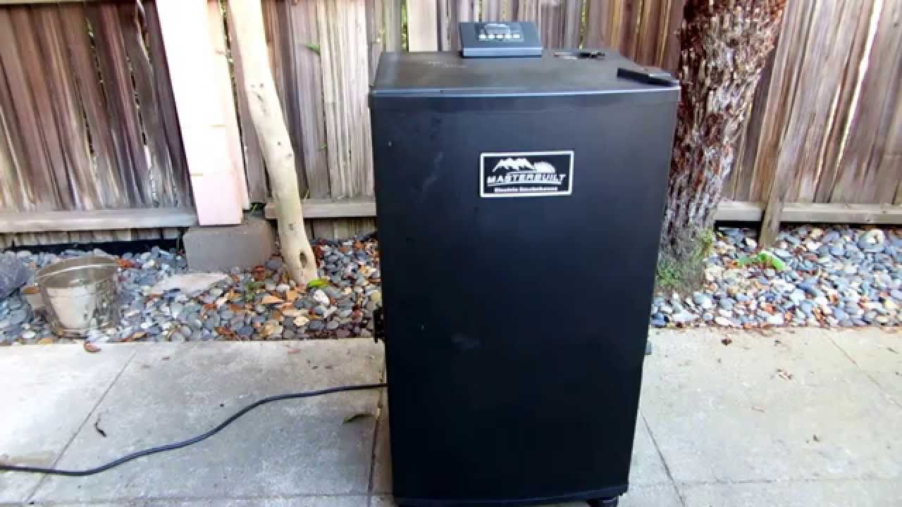 How to use a masterbuilt electric smoker with images