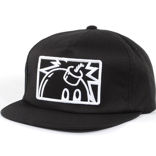 The Hundreds Patch Adam Snapback Hat (Black) $27.95